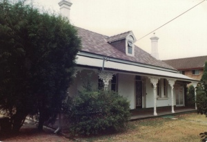 'Viwa' Burlington Road Homebush. Photo Strathfield District Historical Society