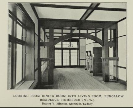 Billesdon interiors, 'Building' 1915 1915
