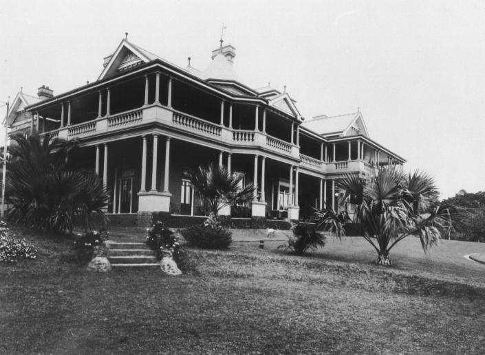 'Tiptree', home of Newman family at Strathfield