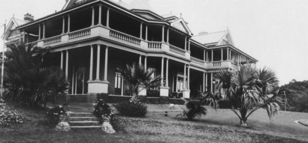 Tiptree, home of Newman Family, Strathfield. Photo c.1909
