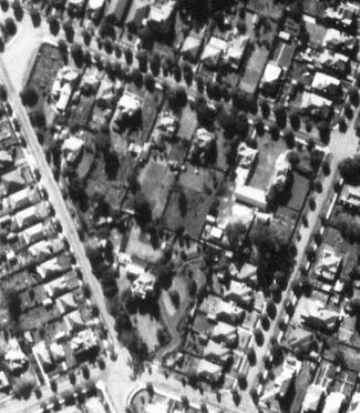 1947 Aerial Broughton Road featuring Howglen