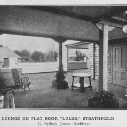 Luleo flat roof area Building magazine 1917