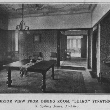 Luleo dining room Building magazine 1917