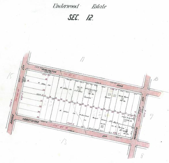 Underwood Estate Section 12