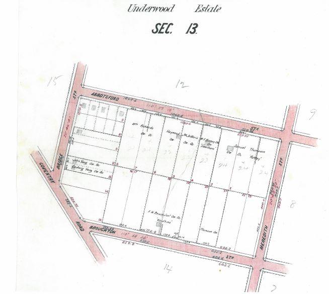 Underwood Estate Section 13