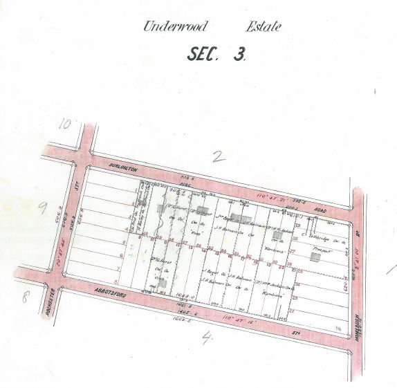 Underwood Estate Section 3