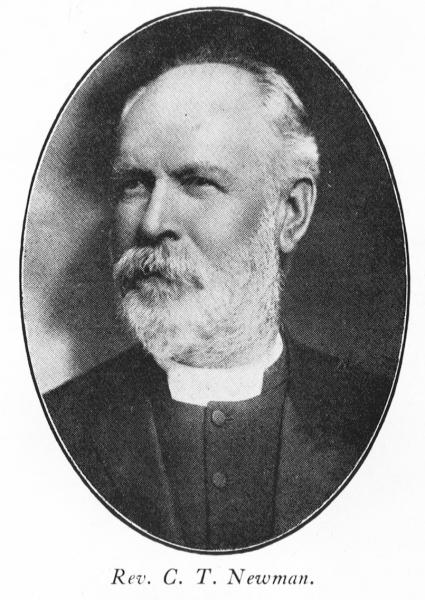 Rev. C T Newman, 1929