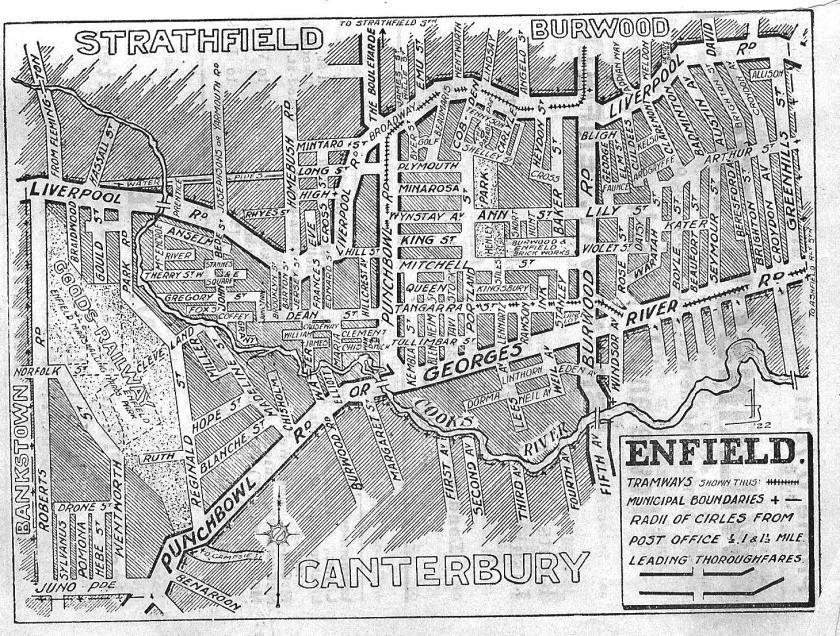 Wilson's Enfield Street Directory 1926