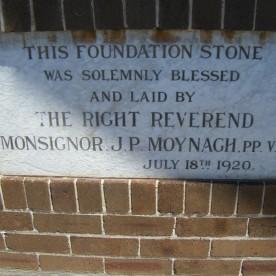 Foundation Stone 1920